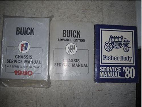 1980 Buick Regal Lesabre Electra Riviera Century Service Shop Repair Manual ()