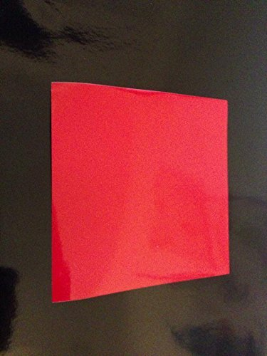 50 Red 6 inch Square Bathroom/Kitchen Tile Stickers Cheap and cost effective