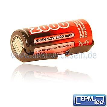 2000/2400/2800/3000 mAh NiMH batería de repuesto para cepillo de dientes