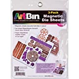 ArtBin 6979AB DIE Cut MAGENTIC STOAGE Sheets Refills 3PK, 3, Multicolor