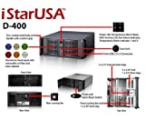 iStarUSA Server Chassis Cases D-400-BLUE