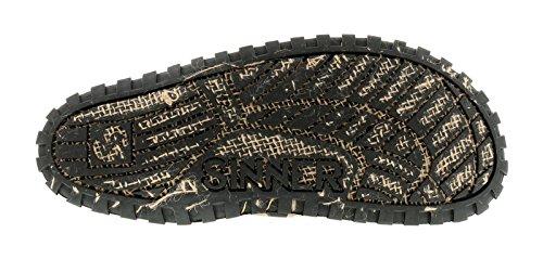 Hombre / Hombre LONA , Sin Cordones Sandalias Tira en el dedo Característica SINNERS Propio UNIQUE Tyre LOOK, Súper Flexible Suela Unidad Corcho Plantilla AÑADE cómodo y pie