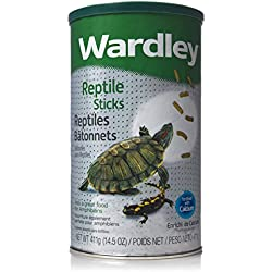 Wardley Premium Amphibian and Reptile Food Stix - 14.5oz
