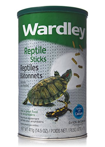 HARTZ Wardley Premium Amphibian and Reptile Food Sticks - 4.75oz
