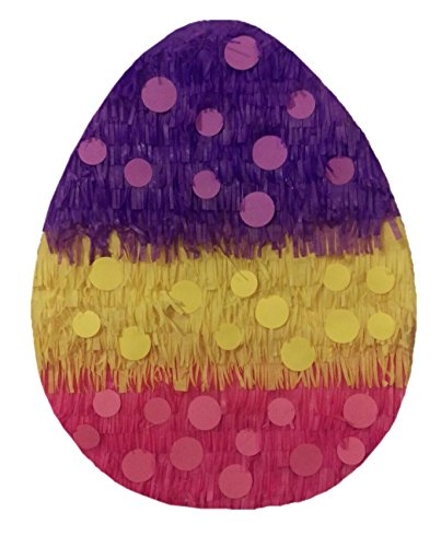 Easter Egg Pinata with Polka Dots 19