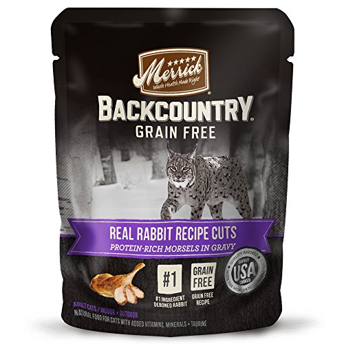Merrick Backcountry Grain Free Wet Cat Food, 3 Oz, 24 Count