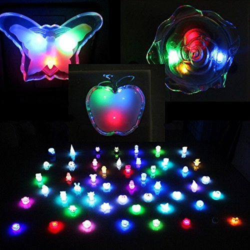 [BTs Shops (3PcsxRose,Apple,Butterfly) ly LED Colorful Bedside Night Light Lamp Room Decorate 2016-] (Plug And Socket Costume Canada)