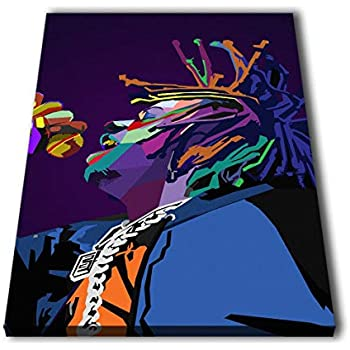 5bc754769973 Susu Art - Trippie Redd Rapper WPAP Canvas Giclee Print Painting Picture  Wall WPAP Pop Art