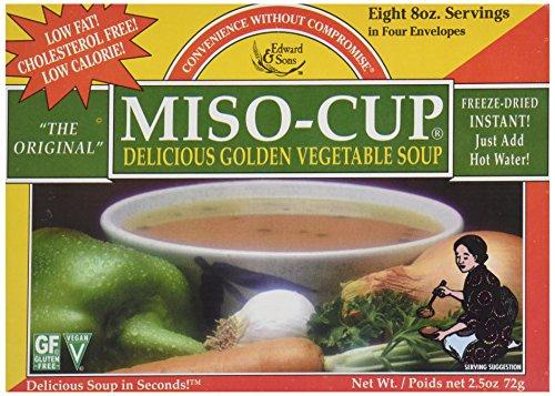 Edward & Sons Original Golden Miso Cup Instant Soup, 2.5 oz