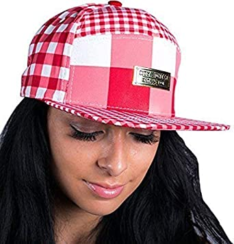 ce10f21df51 City Hunter Check All Over 7 Panel Snapback Caps