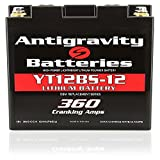 Antigravity Batteries YT12BS-12 Lithium Motorsports Battery, LEFT NEG TERMINAL, OEM Replacement Series