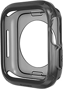 Case for Apple Watch Case 44mm 40mm, Shock-Proof and Shatter-Resistant Protector Bumper iwatch Case Compatible Apple Watch SE & Series 5, Series 4, Nike+,Sport, Edition…