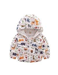 PAUBOLI Toddler Boy Windbreaker Lightweight Jacket Spring Coats 1-5T