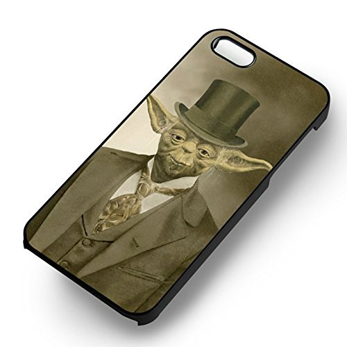 Chic In Suit for Cover Iphone 7 Case (Black Hardplastic Case) E3E2IC