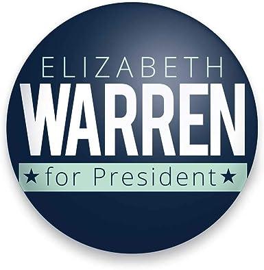 Elizabeth Warren 2020 Campaign Button 1 1//2 inch Ships Free