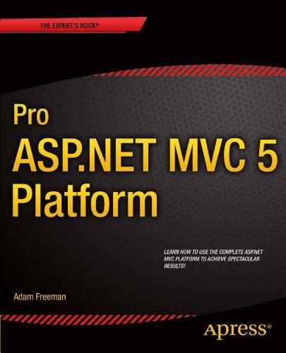 Download Pro ASP.NET MVC 5 Platform Pdf