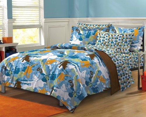 My Room Extreme Sports Ultra Soft Microfiber Boys Comforter
