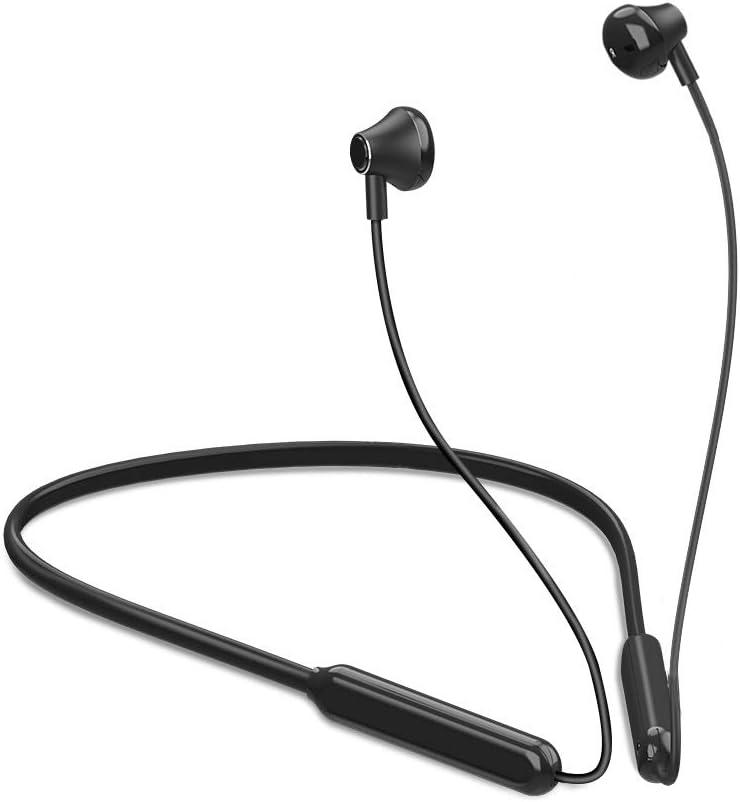 Auriculares deportivos Bluetooth con micrófono, inalámbricos, con bluetooth V5.0, para Iphone Samsung Huawei Xiaomi ... Meilo