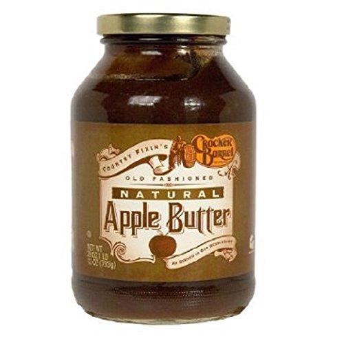 Cracker Barrel Natural Apple Butter 28 oz Jar
