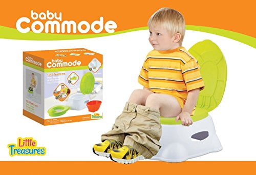 Baby Commode – the potty trainer and step stool accessory...