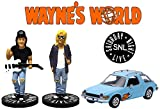 Greenlight 1977 AMC Pacer 1:43 Scale & Wayne's World Figure Set