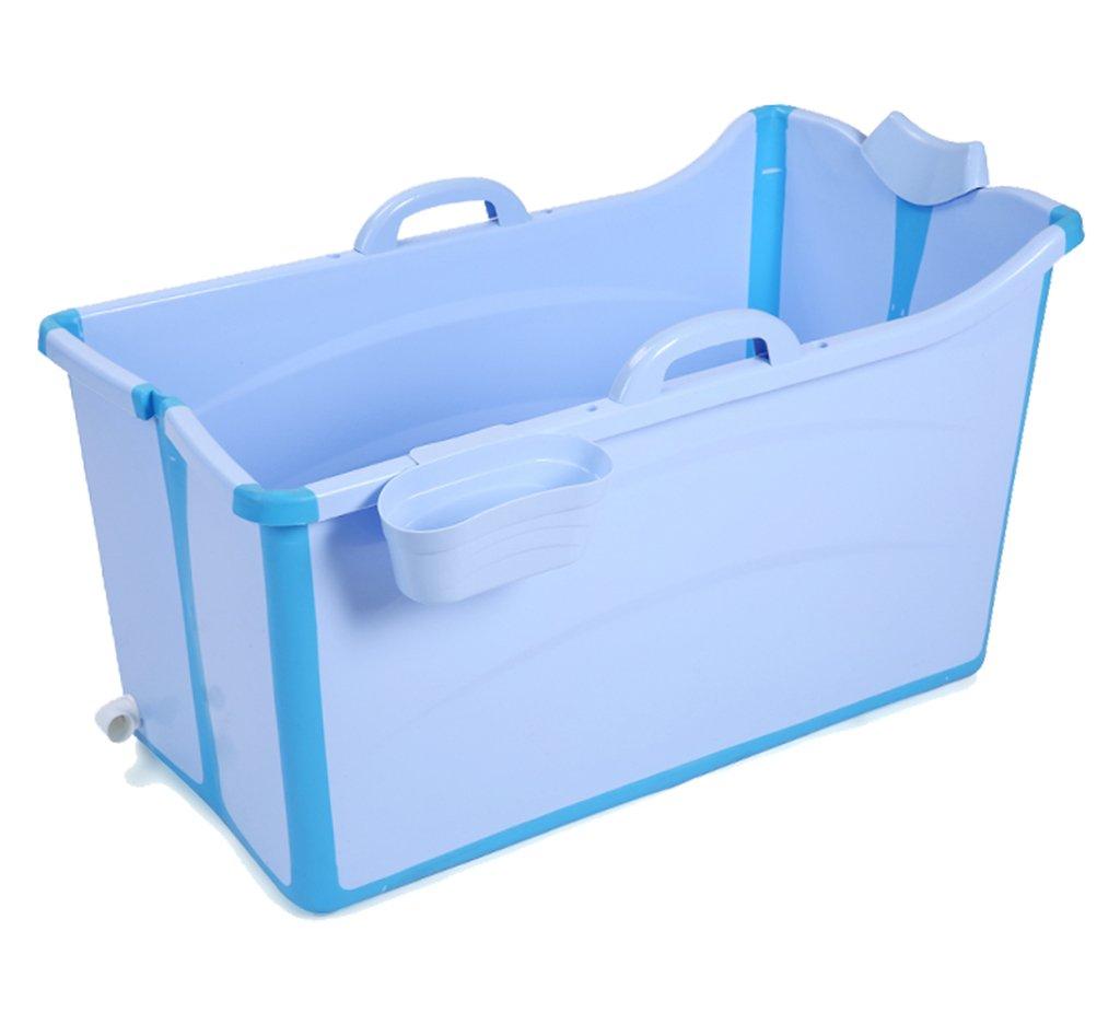 Folding tub YONG SHOP- Grande vasca pieghevole per vasca da bagno bambino vasca da bagno (Colore : Rosa)