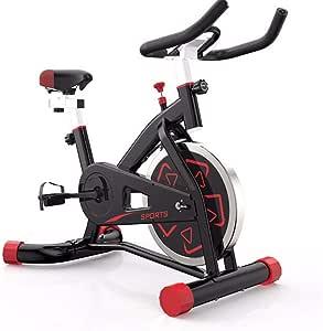 Zhengowen Bicicletas De Ejercicio Juego de Bicicleta de Spinning ...