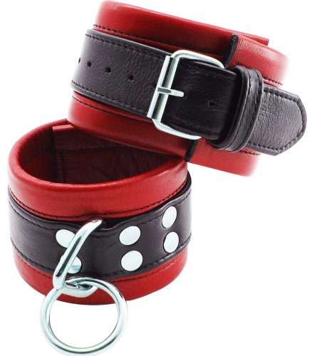 Wrist Cuffs Blk/red