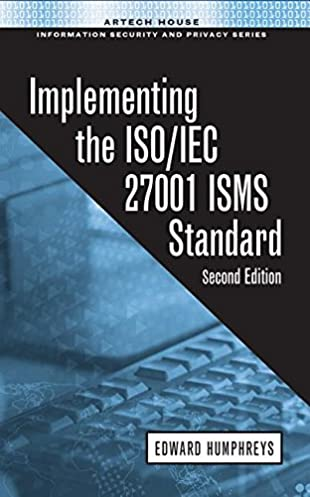 implementing the iso iec 27001 isms standard 9781608079308 rh amazon com ISO 27001 Framework ISO IEC 20000-1
