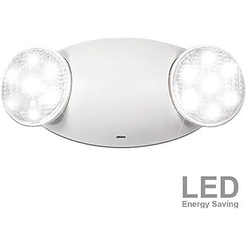 Lightworld 2 Head Emergency Light With 6 Cord Plug 90