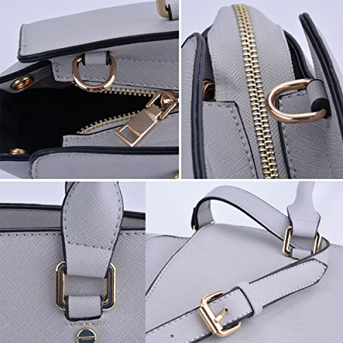 Shoulder Womens Handbags Bag Handbag COOFIT for 3pcs Leather Handbags Faux Tote Handbags Women Crossbody Set UCqURz