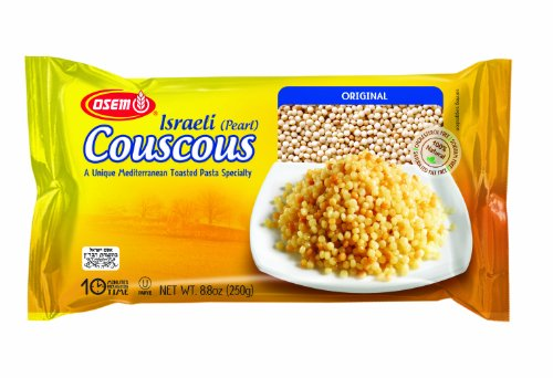 Osem Israeli Pearl Couscous, Original, 8.8 Ounce (Pack of 4) by Osem