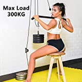 LoveinDIY High-Strength Fixed Pulley Block Fitness