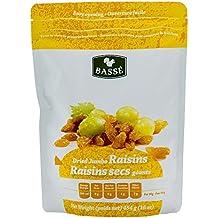 Golden Raisins, 1 Pound Bag of Dried Jumbo Golden Raisins from Basse Dried Fruits - 1lb Bag of Delicious, Healthy Raisins (1 Pound Bag)