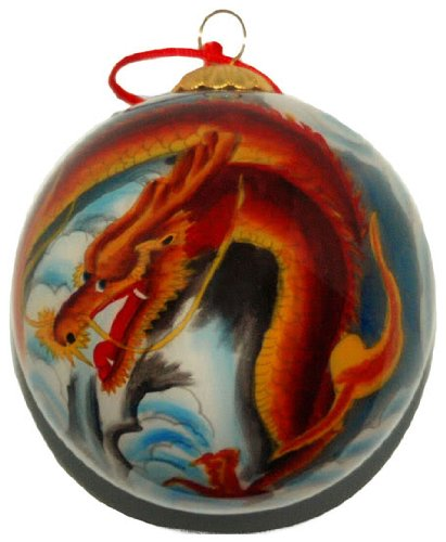 Where To Buy Christmas Decorations Year Round: Dragon Ornaments For Christmas Or Year Round