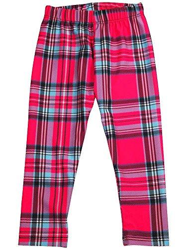 Zara Terez - Big Girls Plaid Capri Legging, Pink (Zara Terez Kids)