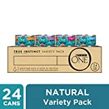 Purina ONE Natural, High Protein Wet Cat Food Variety Pack, True Instinct Tuna, Chicken & Salmon Recipes - (24) 3 oz. Cans Larger Image