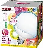 東芝 E-CORE(イー・コア) LED電球 <キレイ色-kireiro-> ボール電球形9.6W(高演色タイプ・ボール電球40W相当・650ルーメン・昼白色)外径95mmタイプ LDG10N-D/G95 口金直径26mm