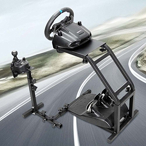 (Pro Racing Wheel Simulator Stand - for Logitech G29/G27/G25 - Game Wheel Stand Without Wheel and Pedals)