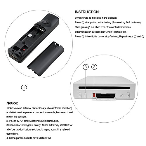 Rc02 Wii Remote Plus Controller For Wiiwii U Free Silicone Case