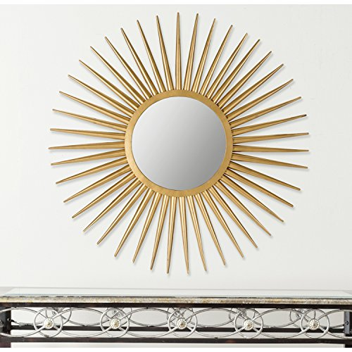 Safavieh-Home-Collection-Sun-Flair-Mirror-Gold