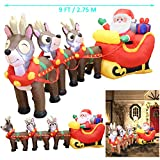 Joiedomi Inflatable Santa Claus