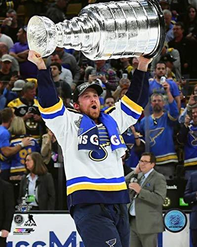 Jaden Schwartz St. Louis Blues 2019 NHL Stanley Cup Trophy Photo (Size: 11