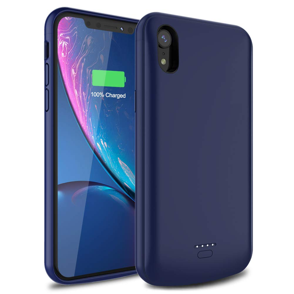 Funda Con Bateria de 5000mah para Apple Iphone Xr WAVYPO [7MMPPP29]