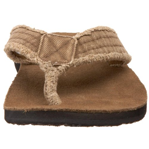 Sanuk Herren Fraid Not Big & Tall Sandal,Khaki18 M US