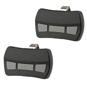 2 Garage Door Opener Remote for Genie Intellicode & Overhead Door GITR-3 (3-Button)
