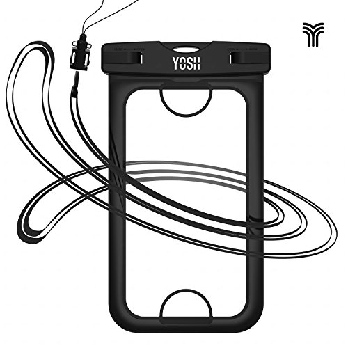 YOSH 2017 Upgraded Design Universal Waterproof Case, Dry Bag Pouch For Apple...
