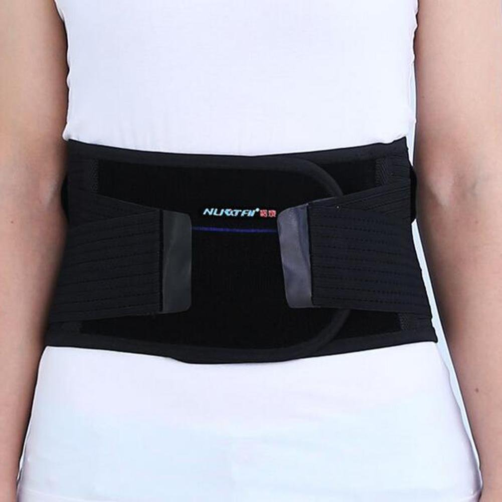 LPY-Adjustable Lumbar Support , Lumbar Device Protection Belt Breathable Self-Heating , xl