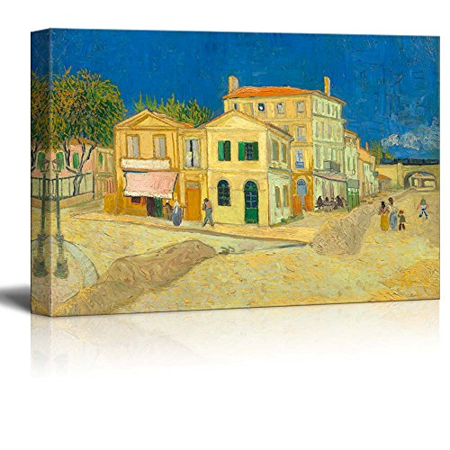 The Yellow House by Van Gogh Giclee ped Gallery