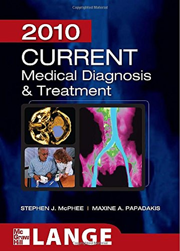 CURRENT Medical Diagnosis and Treatment 2010, Forty-Ninth Edition (LANGE CURRENT Series)